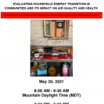 Household energy, air quality, and health